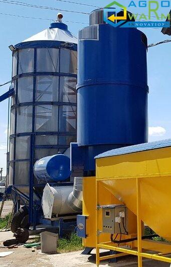 Теплогенератор для зерносушилки на пеллете